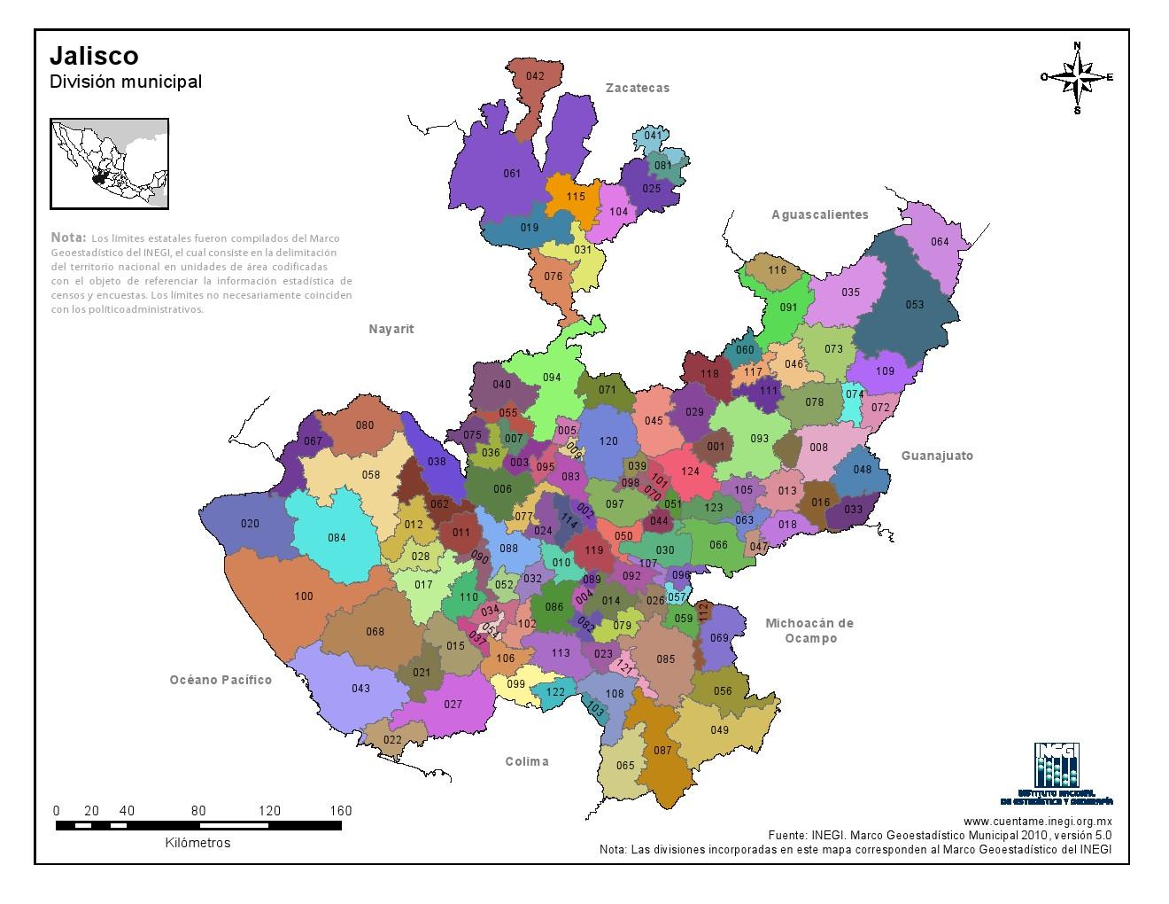 estado de tlaxcala y sus municipios: