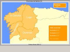 Provincias de Galicia. Como se chama?