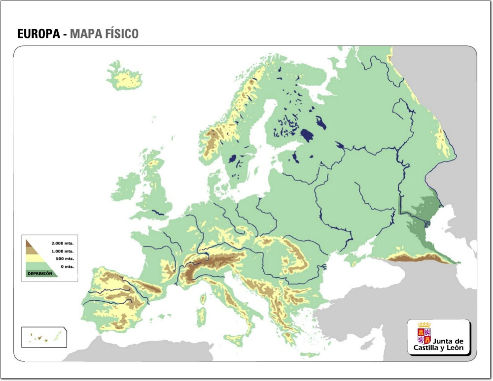 Geografa Europea  Lessons  Tes Teach