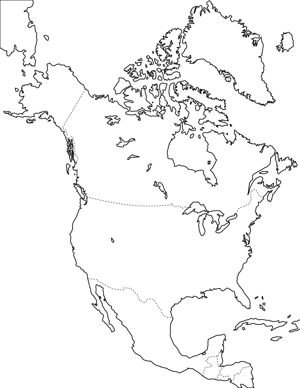 Mapa interactivo de América Central Países de América Central ...