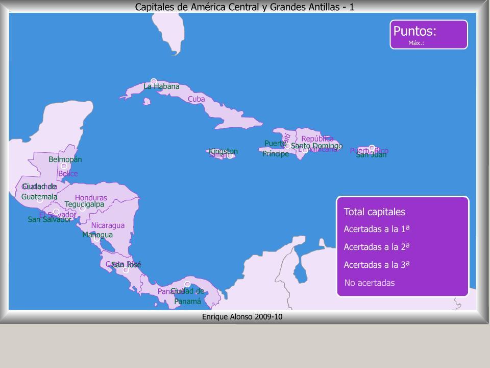 Mapa Interactivo America Fisico.Mapa Interactivo De Oceania Fisico
