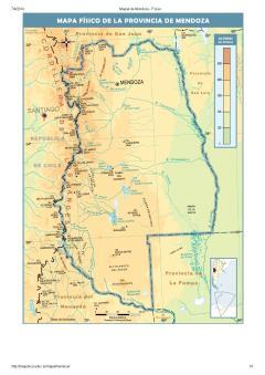 de Mendoza (Argentina) Mapa arqueológico de Mendoza. Mapoteca de ...