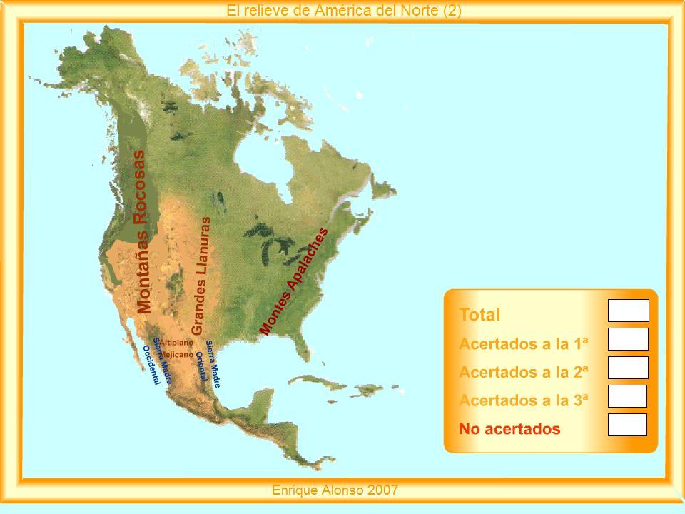 Mapa Interactivo De America Del Norte.Ya Estamos En 6º Mapa Interactivo America Del Norte