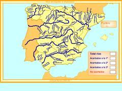 Ríos de España. ¿Cómo se llama?(Avanzado)