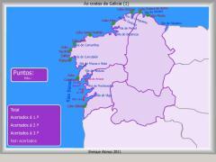 Costas de Galicia. Onde está ...?
