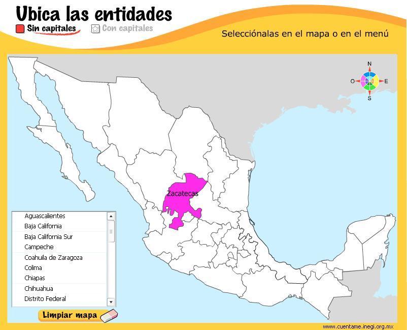 Mapa Interactivo America Capitales.25 Lujo Capitales De Mexico Mapa Interactivo