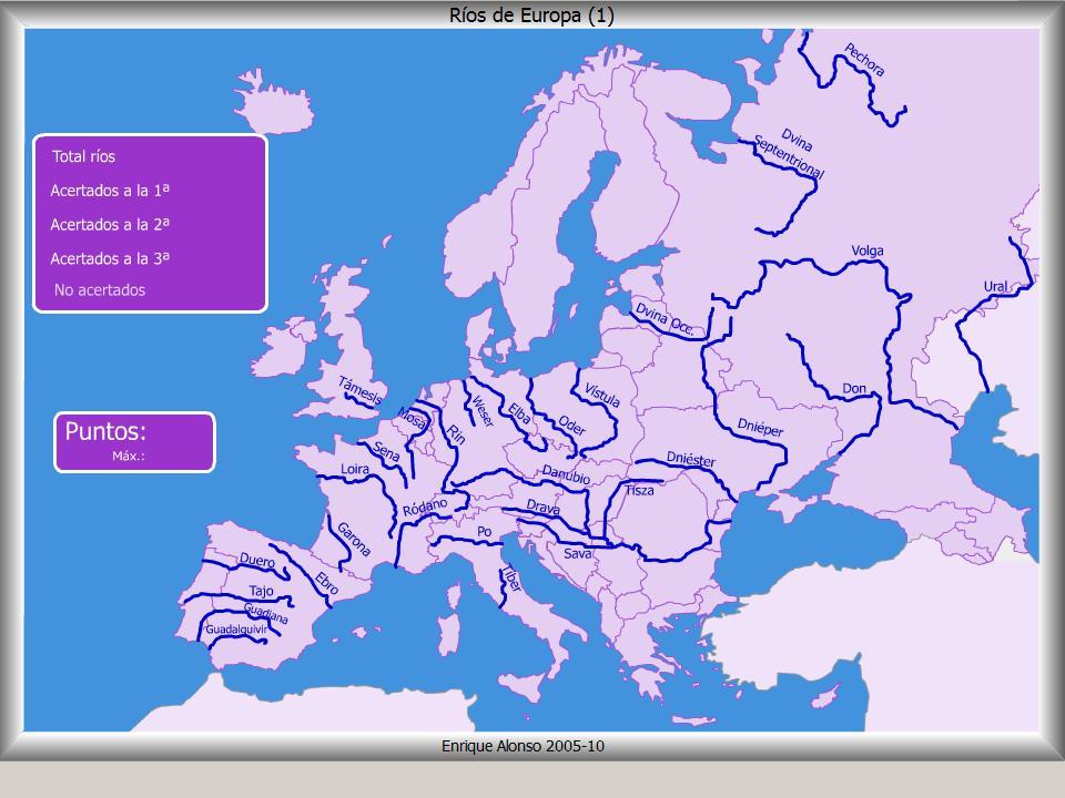Jvenes gegrafos Europa fsica en 3 ESO