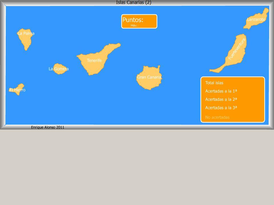 Mapa interactivo de las islas canarias islas canarias - Baleares y canarias ...