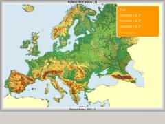 Relieve de Europa. ¿Cómo se llama?
