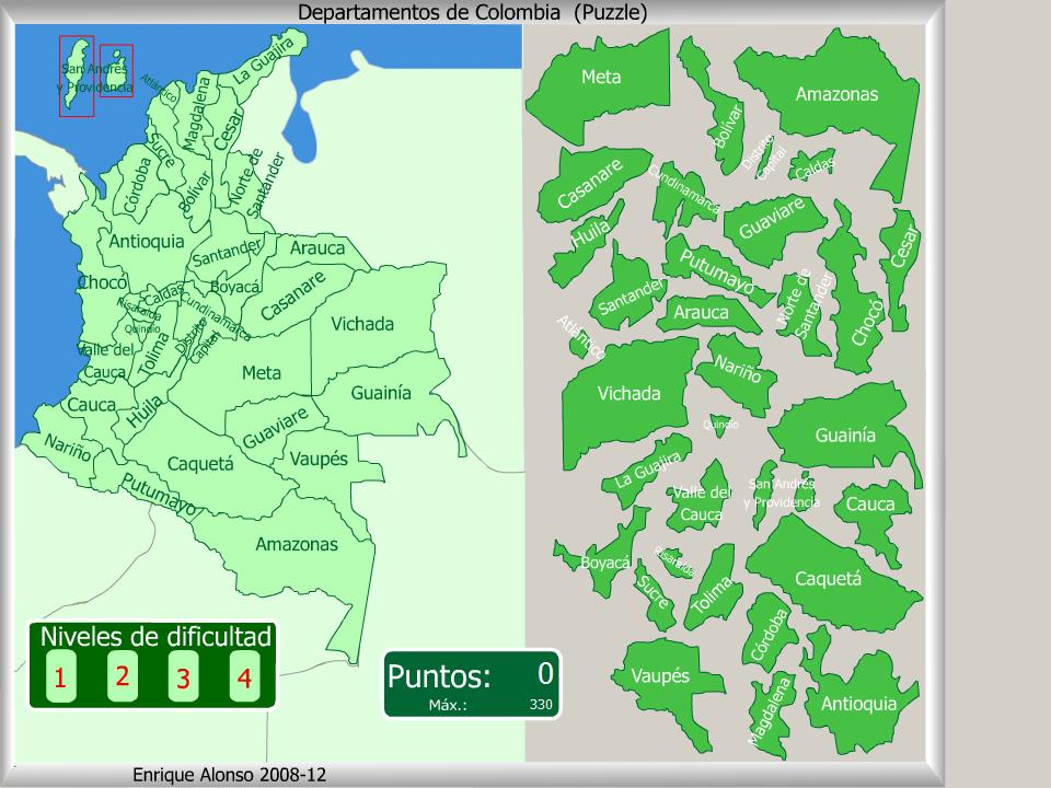 Mapas De Departamentos