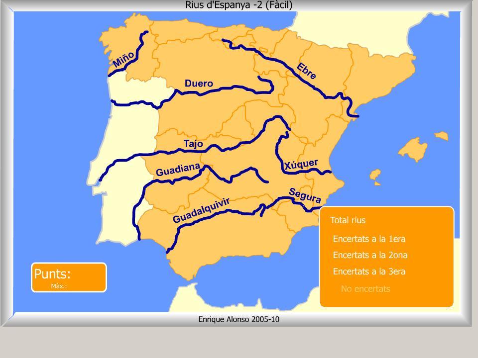 Mapa Rius D Espanya | My blog