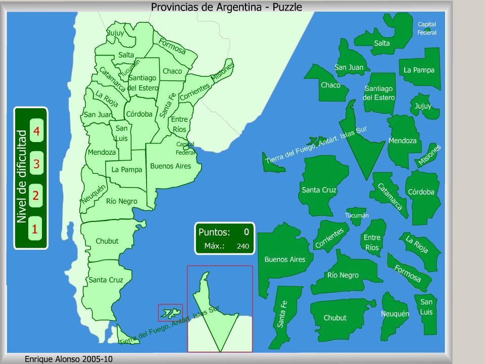 Resultado de imagen para juegos interactivos de las provincias argentinas