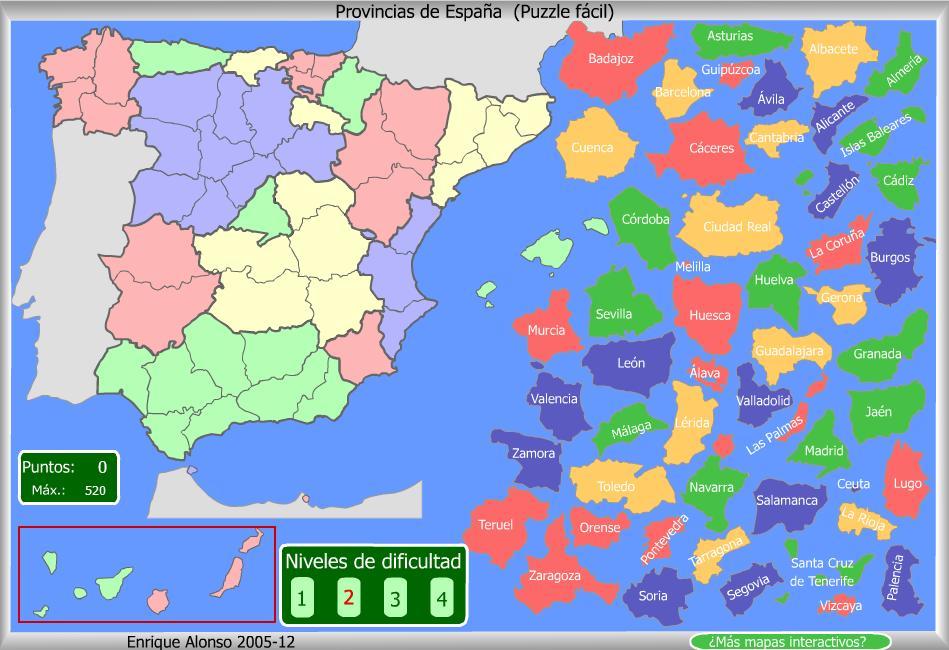 Mapas Xogos