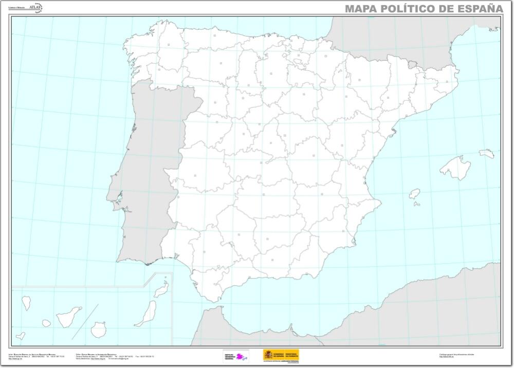 Provincias Barcelona Mapa Mapa de Provincias y Capitales
