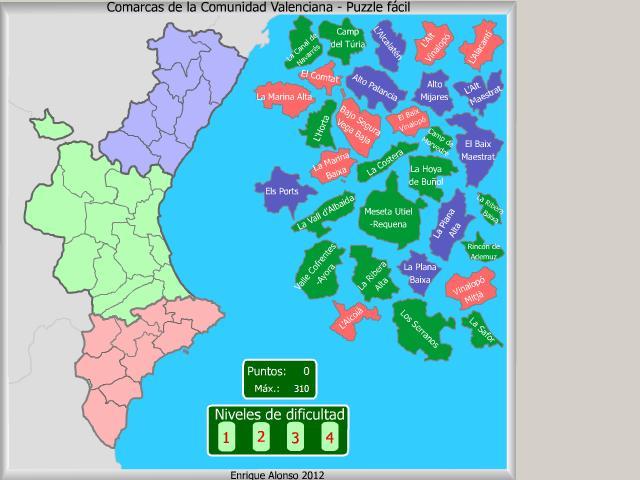 Tag > mapa de la comunidad valenciana - Didactalia: material educativo