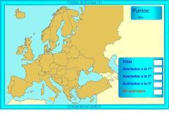 Costas de Europa. ¿Dónde está?