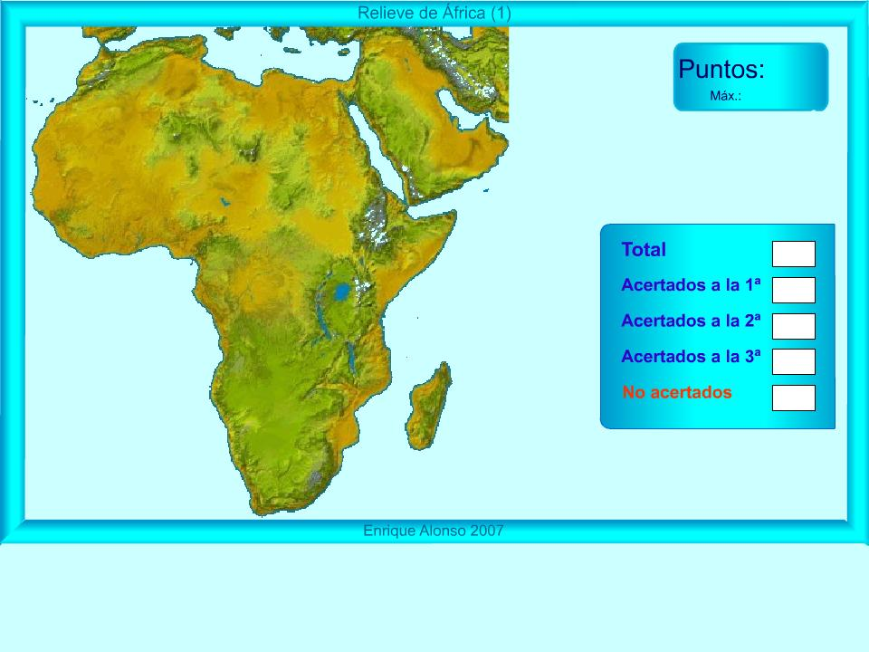 Mapa De Africa Interactivo.Revuelta Ortiz Y Cia Sistemas Montanosos De Africa