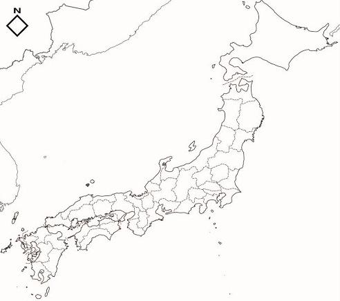 Mapa de japon para colorear - Imagui