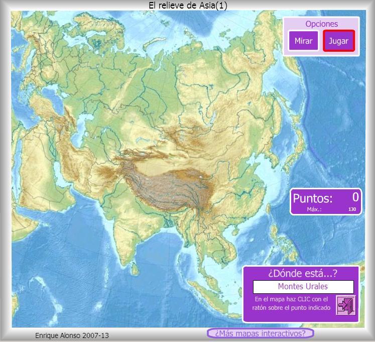 Atlas  Mapa Fsico De