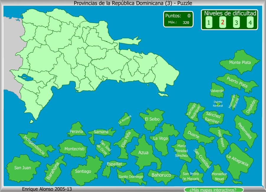 Rep blica dominicana mapa geogr fico - Republica de las ideas ...