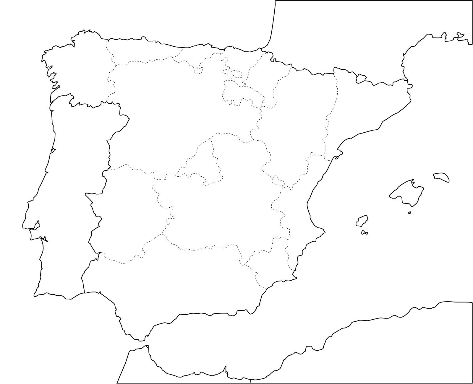Best Images Mapa España