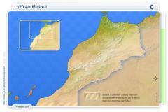 Villes du Maroc. Jeux géographiques