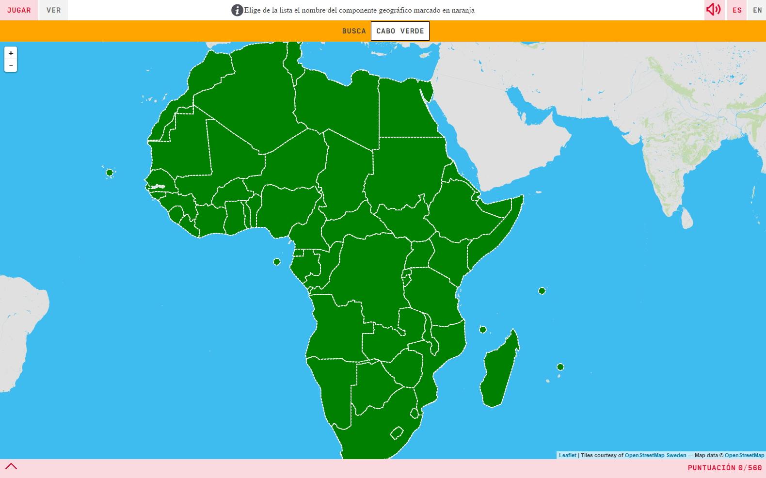 Mapa De Africa Interactivo.Donde Esta Africa En El Mapa