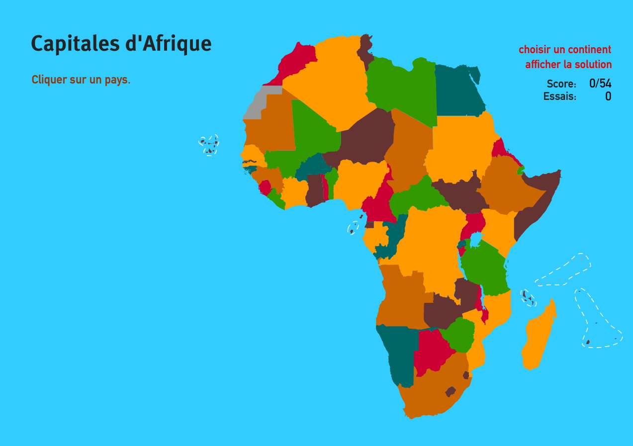 carte interactive d 39 afrique capitales d 39 afrique jeux de g ographie mapas interactivos de. Black Bedroom Furniture Sets. Home Design Ideas