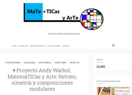 MaTe+ TIC y ArTe Proyecto Creativo Multicompetencial