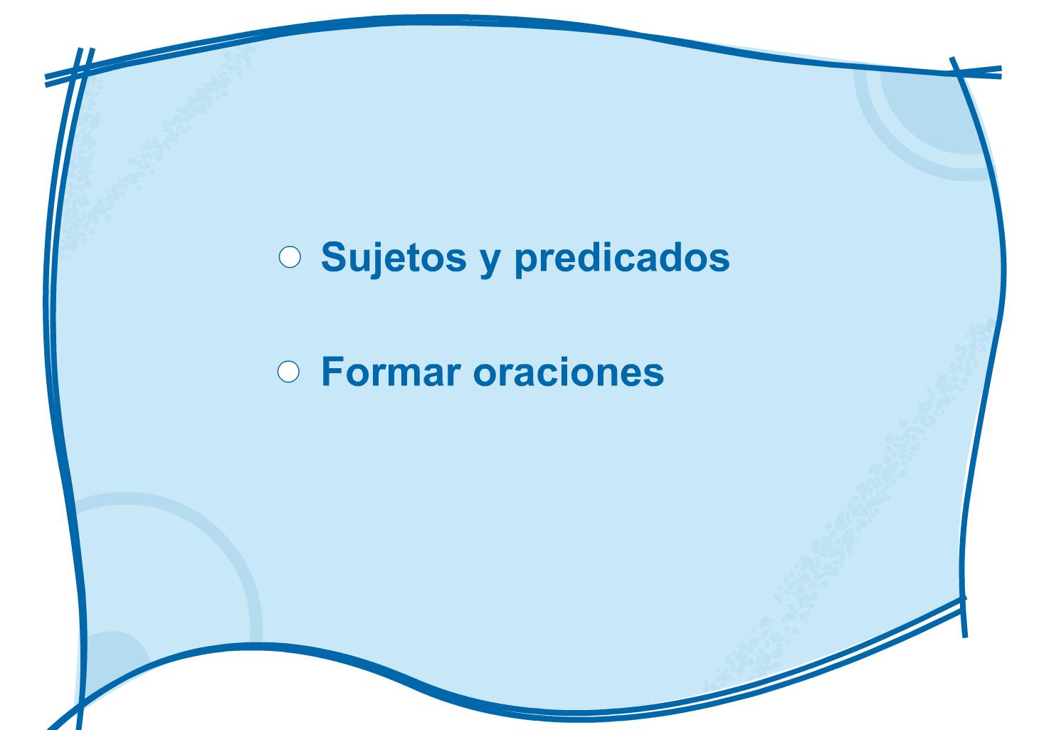 Resultado de imagen de SUJETO Y PREDICADO JUEGOS SEGUNDO PRIMARIA