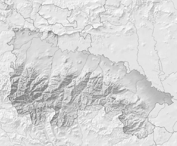 Mapa físico mudo de La Rioja (Anaya) - Didactalia: material educativo