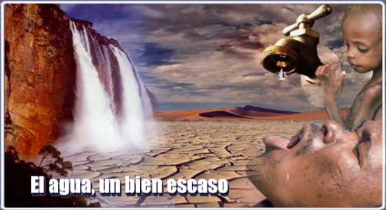 El agua, un bien escaso. Unidad didáctica bilingüe