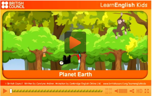 Planet Earth. LearnEnglish Kids. British Council
