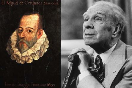 Cervantes, Borges y el metro de platino. El canon literario