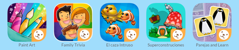Juegos interactivos infantiles