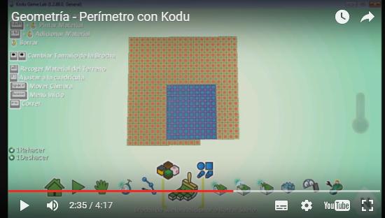 Aprendiendo geometría con Kodu