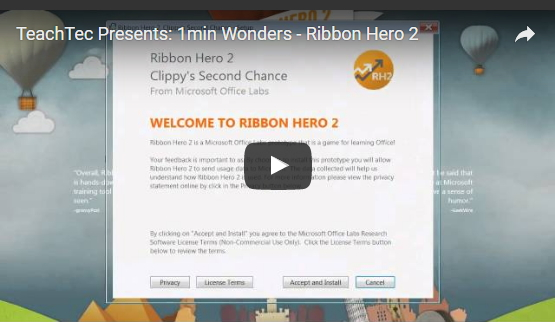 How to use Ribbon Hero
