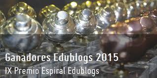 Ganadores IX Premio Espiral Edublogs (2015)
