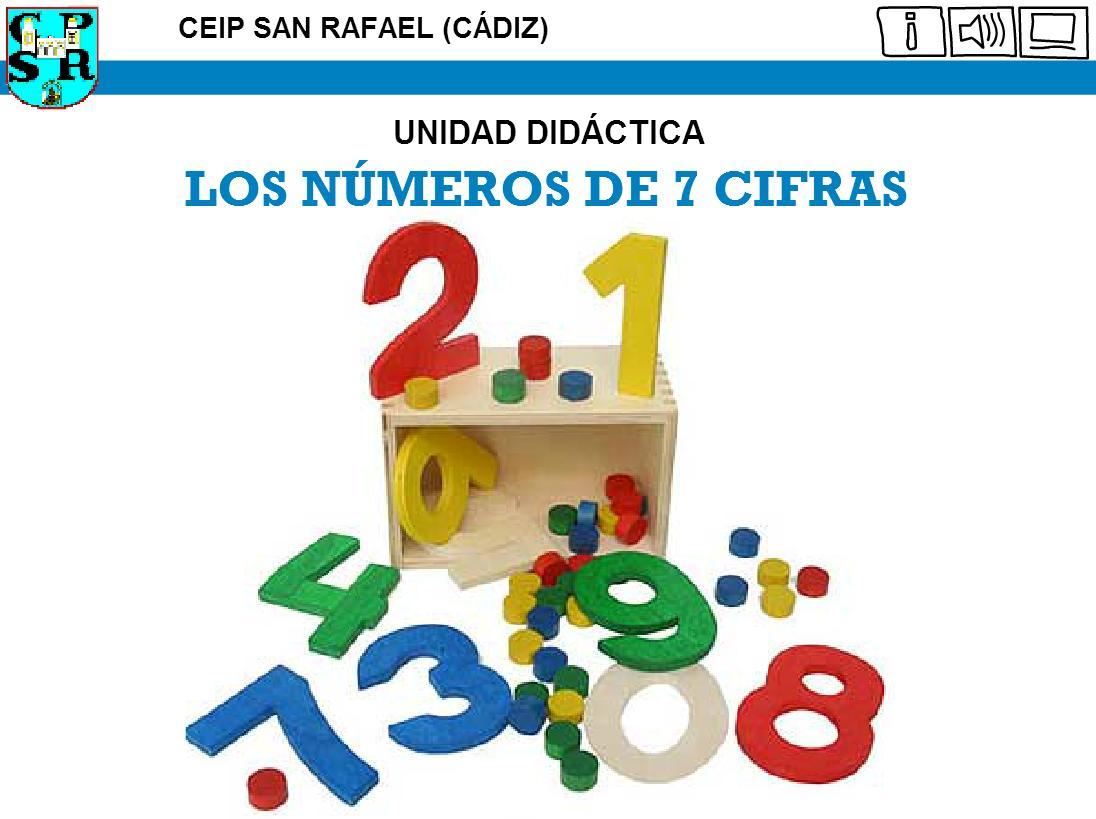 números de 7 cifras