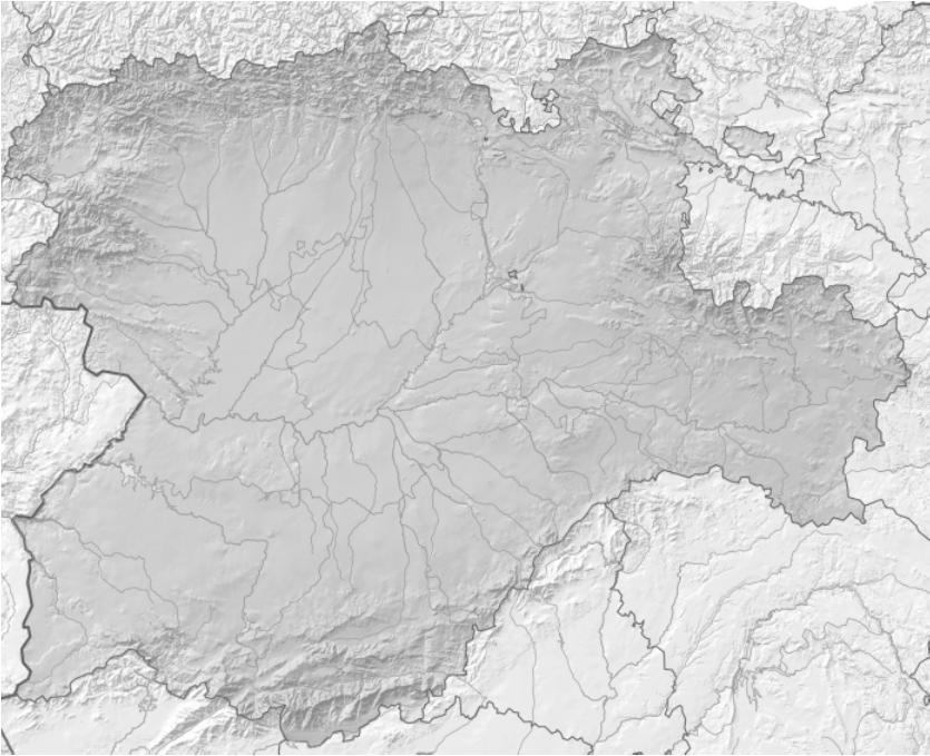 Mapa Mudo Castilla Y Leon Imagui