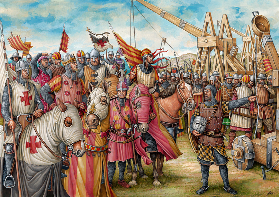 Las tropas almogávares
