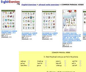 ejercicio online ingles: